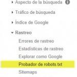 ¿Cómo comprobar el archivo robots.txt?