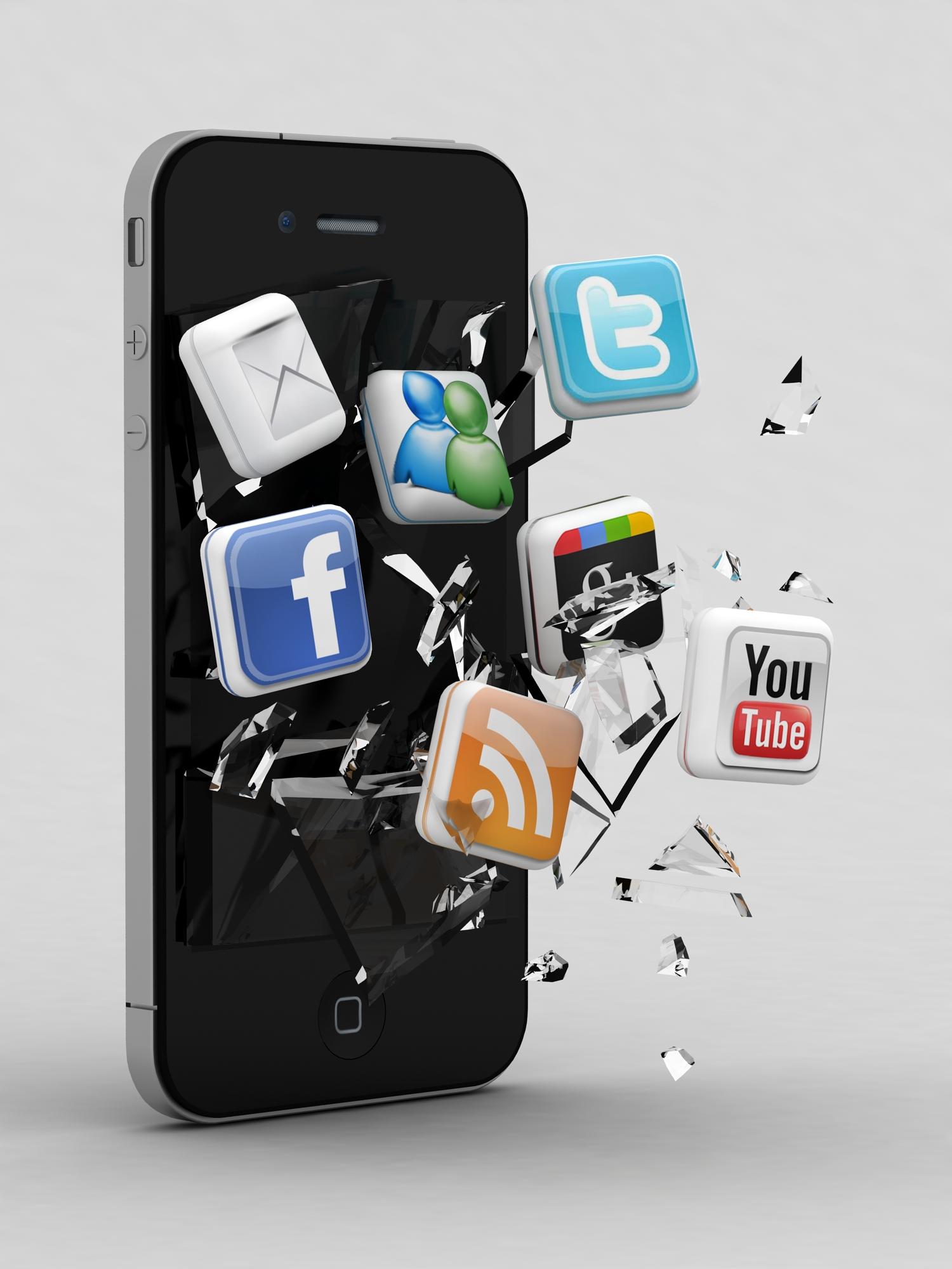 movil-social-media