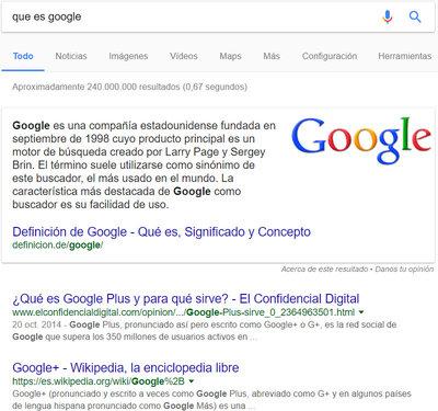 Como funcionan los resultados cero de Google