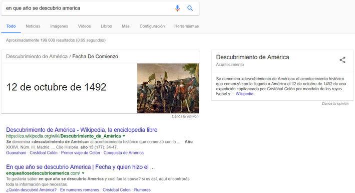 que es el resultado cero de google